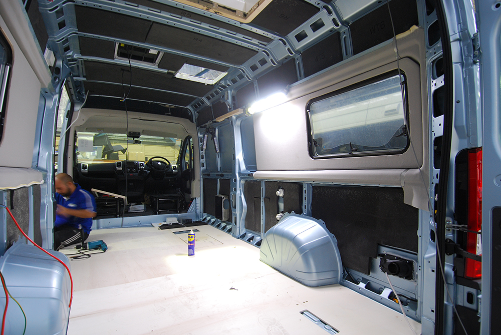 motorhome insulation